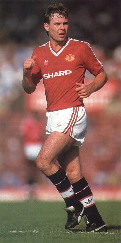 Brian McClair Man Utd