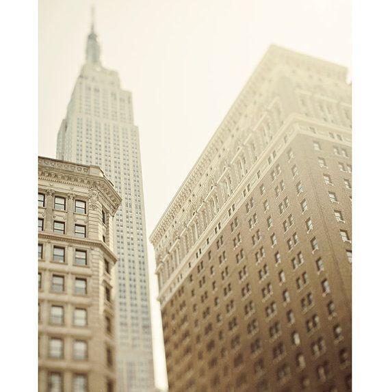 NYC Art New York City Photography Urban by EyePoetryPhotography (Art & Collectibles, Photography, Color, Nyc, Manhattan, Neutral, Irene Suchocki, Nyc Art, Beige, Wall Decor, Skyscraper, Photograph, Urban Architecture)