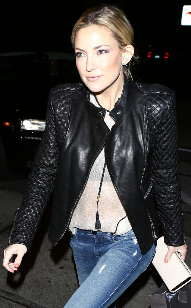 Kate Hudson looks super stylish for a night out in Hollywood!