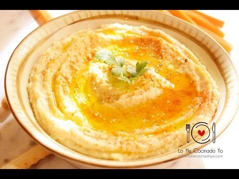 Cómo hacer Hummus sin tahini o tahina - Lo He Cocinado Yo