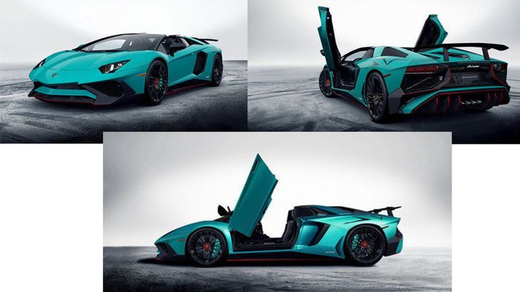 2017 Lamborghini Aventador LP750-4 Superveloce Roadster - Reveled at the 2015 IAA