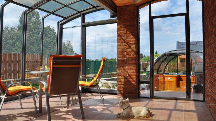 Patio enclosure CORSO Premium | Patio enclosures and pool enclosures