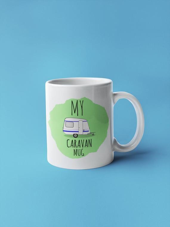 Caravan mug personalised caravan gift novelty gift caravan inspired cup caravan
