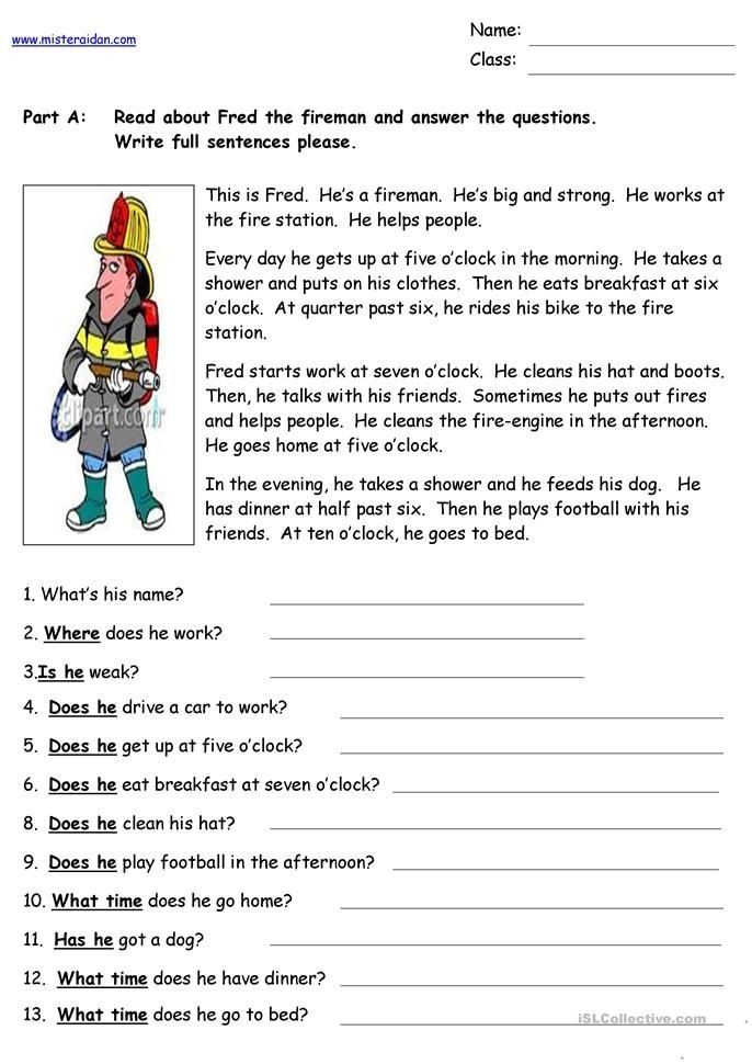 27+ 911 reading comprehension worksheets free Top