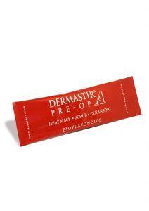 Dermastir Pre-Op Heating Exfoliating Mask - crunberry scrub, heating mask, made in France. Buy now on altacare.com