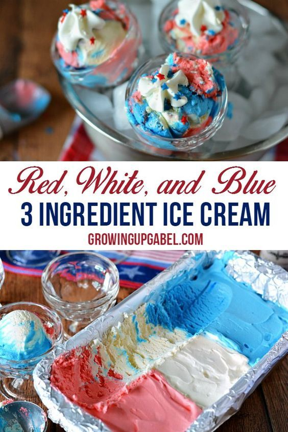 Make red white and red