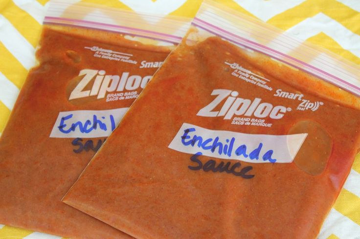 Homemade Enchilada Sauce (freezer friendly)