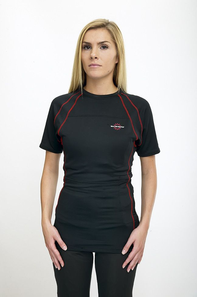 - Women's T-Shirt Heated Base Layer