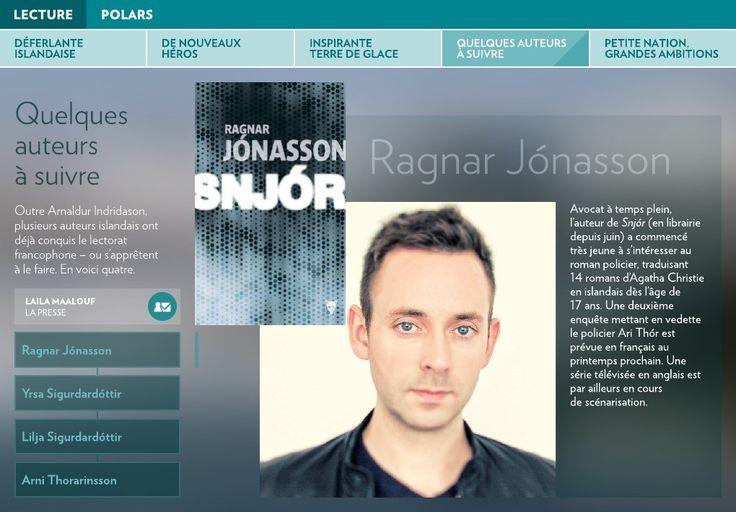Outre Arnaldur Indridason, plusieurs auteurs islandais ont déjà conquis le lectorat francophone–ou s'apprêtent à le faire. Envoiciquatre.