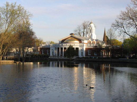 City Hall Pond Milford Ct