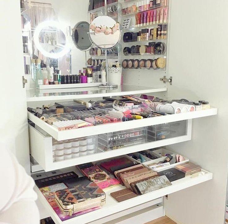 17 Mejores Ideas Sobre Mesa De Tocador De Maquillaje En