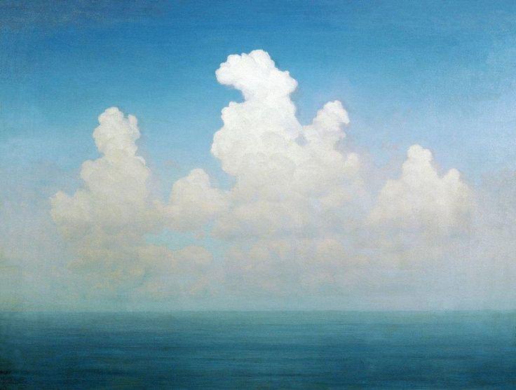 Cloud, Arkhip Kuindzhi     1895               Barbara Steele & Mario Pisu in 8½ (Federico Fellini, 1963)             via: ohlivi...