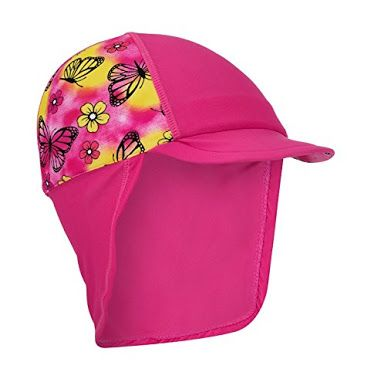 Even though you am  in the water you should still stay sun safe, that's why there are things called the water hats. These hats are waterproof and are especially for people you are wanting to be in the water whilst still being sun safe.