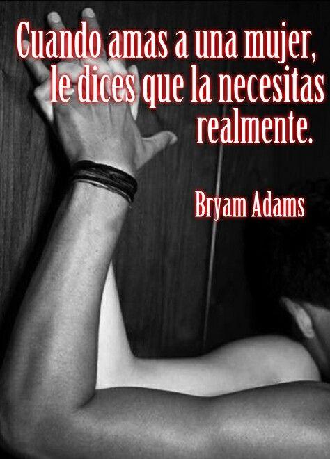 Bryam Adams.