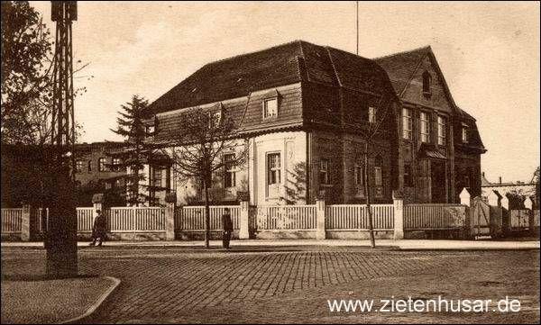 Die Zietenhusaren - Rathenow - Geschichte und Geschichten - Offizierskasino