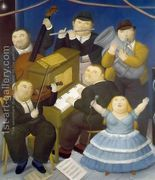 The Musicians  by Fernando Botero