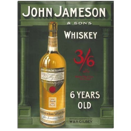 John-Jameson-Irish-Whiskey-Bar-Club-Pub-Restaurant-Small-Metal-Tin-Sign