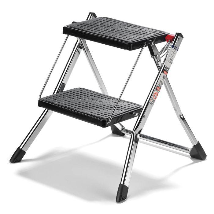 Step Ladder | Folding Step Stool | Kitchen Step Stool | 2 Step Ladder