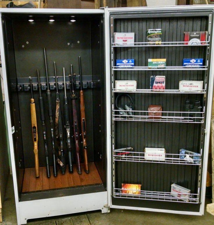 Creative Gun Safe Closet Conversion Home Decor