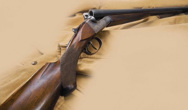 An Ithaca shotgun from some 90 years ago.