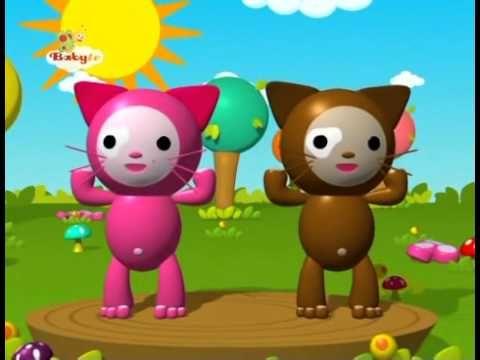 Kinderliedjes (BabyTV) - Hoofd, Schouders, Knie en teen - YouTube