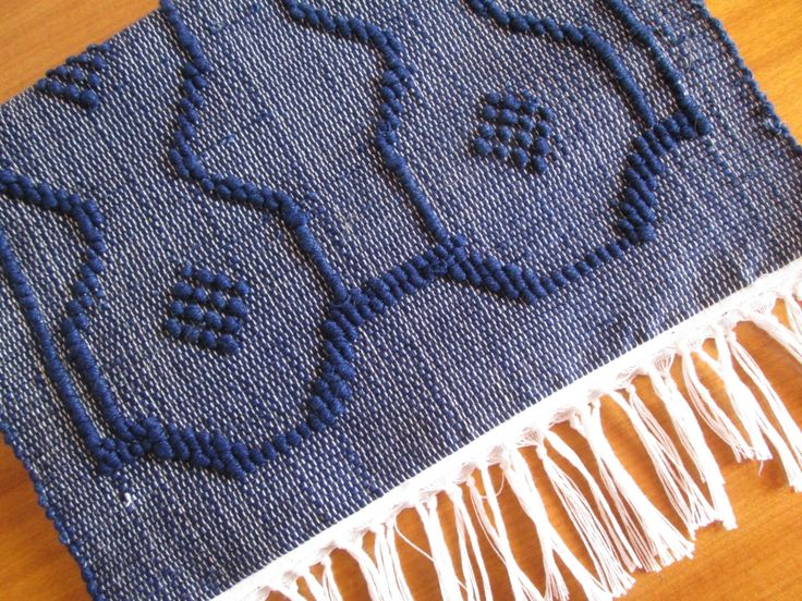 Handmade woven table runner | Unique table runner | Home decor | Kitchen decor | by colorfulstripeshome on Etsy