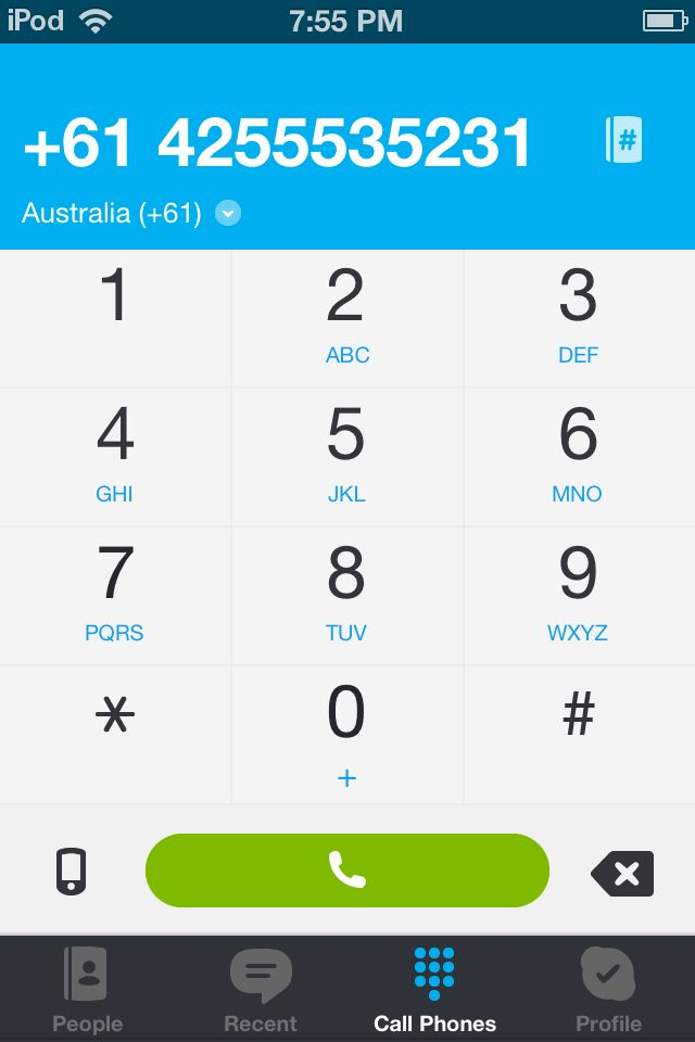 so i was on Skype calling random aussie # when a guy answered! It sounded exactly like LukeEVERYONE WHO HAS SKYPE CALL THIS EXACT NUMBER AND THEN LEAVE ME A COMMENT IF ITS HIM