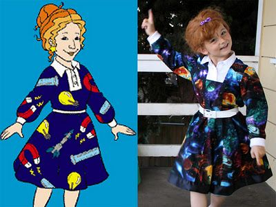 magic school bus!  Ms. Frizzle is another one of my favorite gingers and I can only hope that my child will dress up like her some day : )