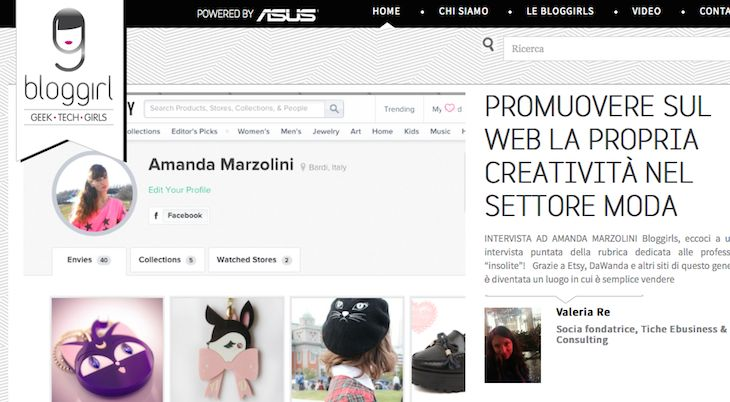 Intervista @Bloggirl, il mag delle geek - promuovere nuovi progetti moda sul web, geek, valeria re, the fashionamy blog, web editor, social ...#press #interview #blogger #fashionblogger #ecommerce #italianfashionblogger #webeditor #fashionblogger #fashionblog