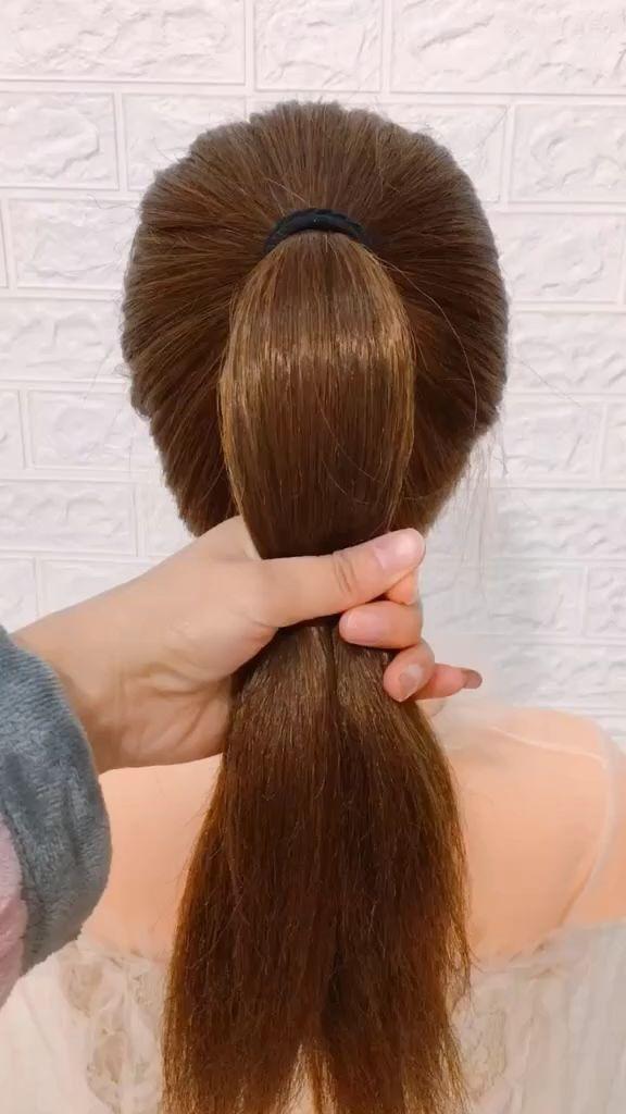 frisuren für lange haare videos | Frisuren Tutorials Zusammenstellung 2019 | Teil 228   – Frisuren