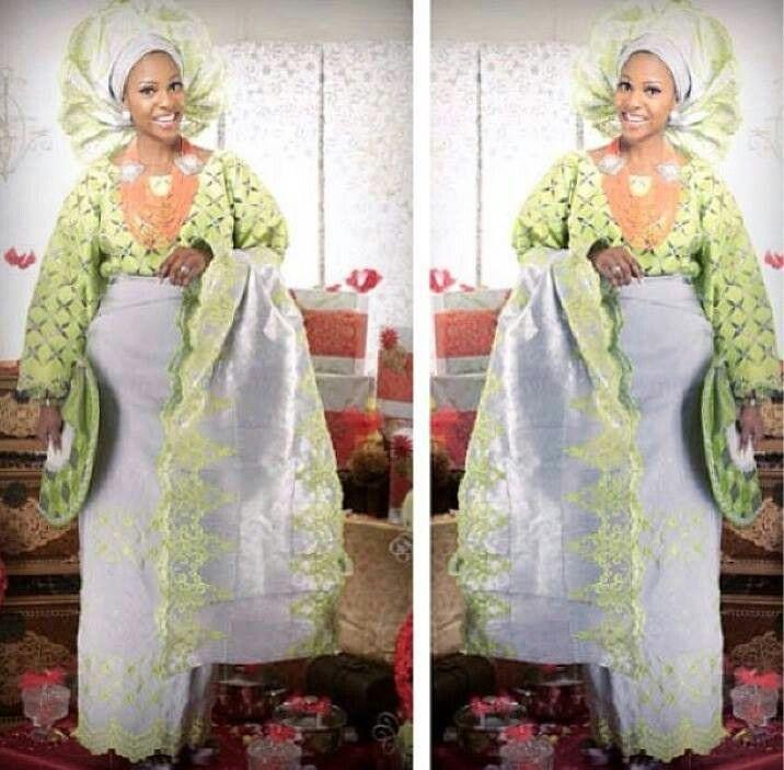 Nigerian Yoruba bride