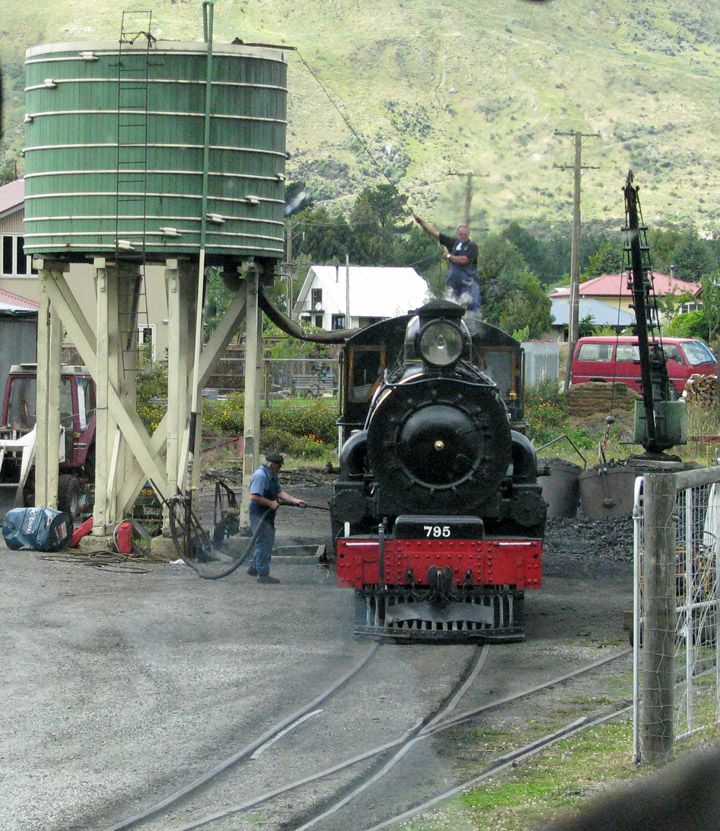 The Kingston Flyer South Island New Zealand