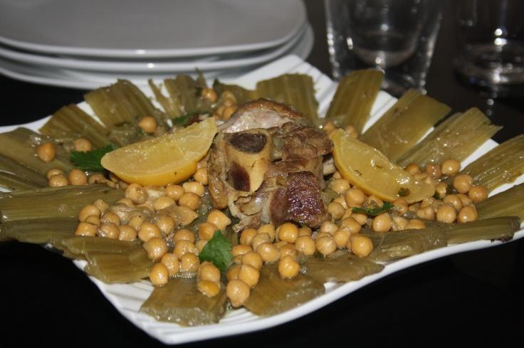 Tajine aux cardons for Cuisine article