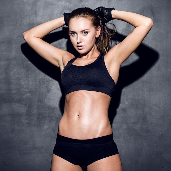 Get ready to turn your traditional gym routine on its head with my HIIT total body workout that will have you dripping with sweat and shedding fat in only eight minutes. This fast-paced, heart