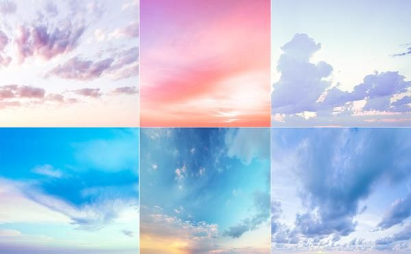 Sample Sky Overlay Collection - Includes 6 FREE Sky Overlays!