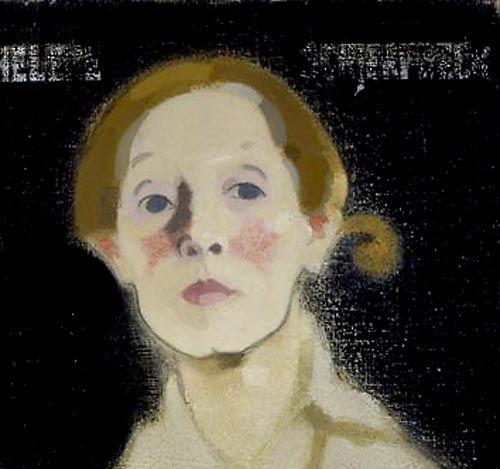 Helene Schjerfbeck (Finnish, 1862-1946) ~ Self Portrait