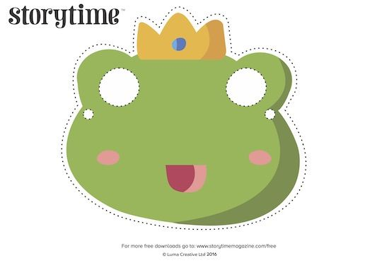 Act out our Storytime Issue 21 fairy tale, The Frog Prince, using our frog, prince and princess masks! Download them for free at http://www.storytimemagazine.com/free-downloads/