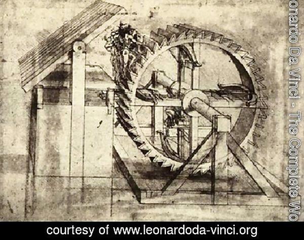 Leonardo Da Vinci - Crossbow Machine