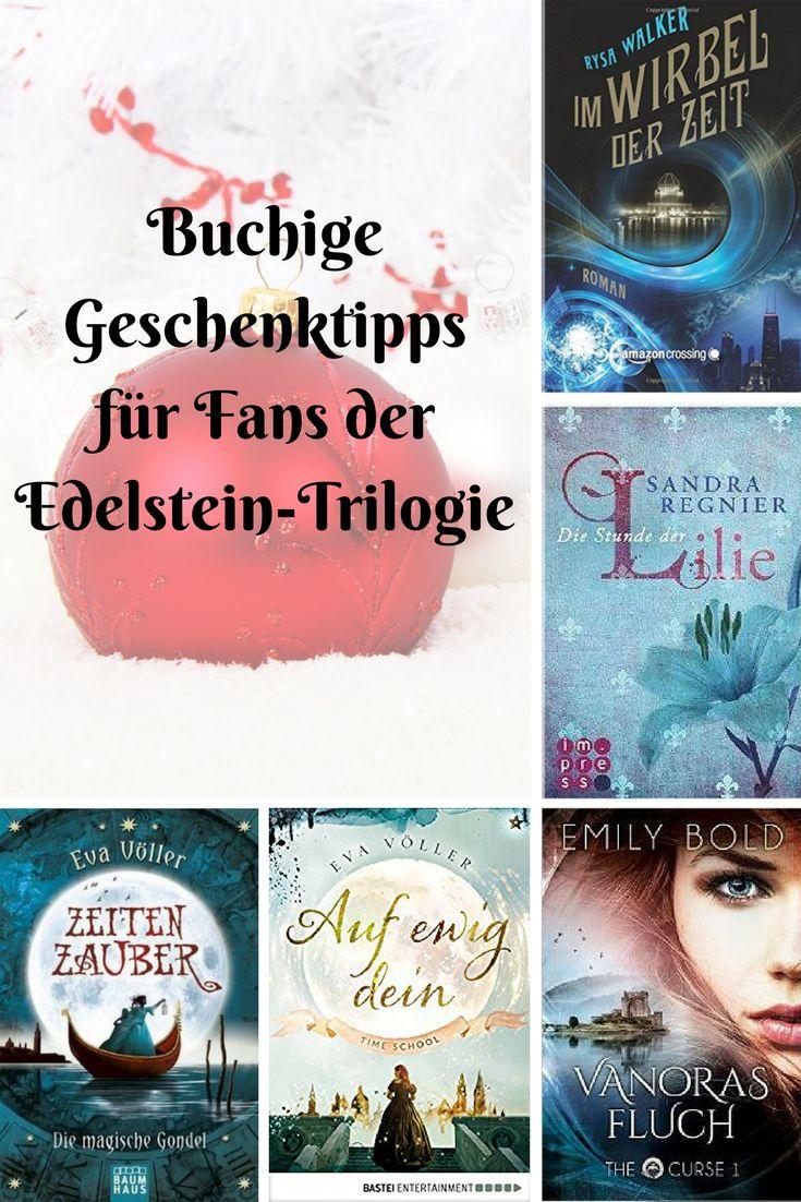 Buchige Geschenktipps für Fans der Edelstein-Trilogie Mit diesen Geschenk-Tipps liegt ihr bei Fans der Edelstein-Trilogie von Kerstin Gier richtig!