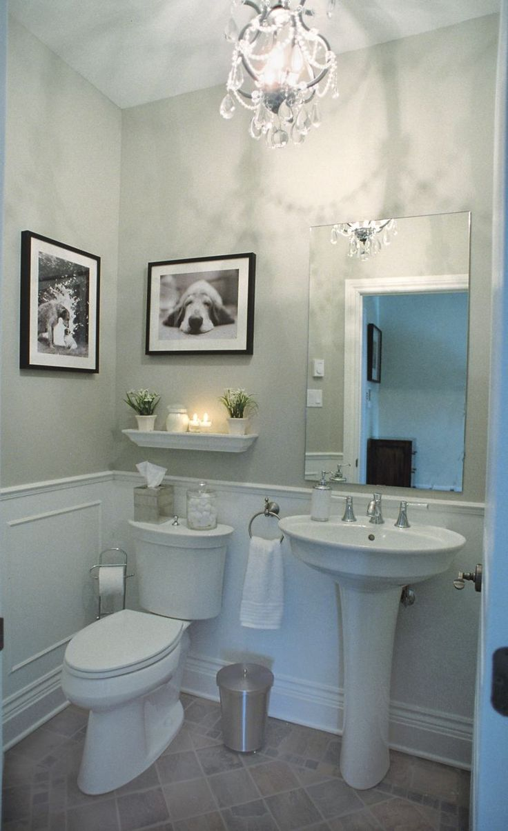 17 best images about new house powder room on pinterest vineyard vanities and modern ceiling for Contemporary half bathroom designs