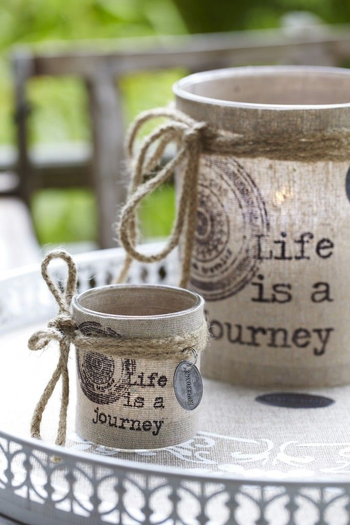 Print on burlap and modge podgeBurlap, Glasses Container, Bohemian Wedding, Bohemian Looks, Mod Podge, Candles Holders, Candles Jars, Modpodge, Crafts