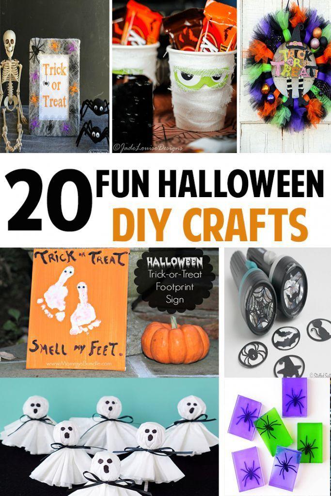 20 Fun Halloween Crafts For Kids Hocus Pocus Halloween Crafts