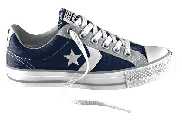 Dallas Cowboys Inspired Converse Shoes