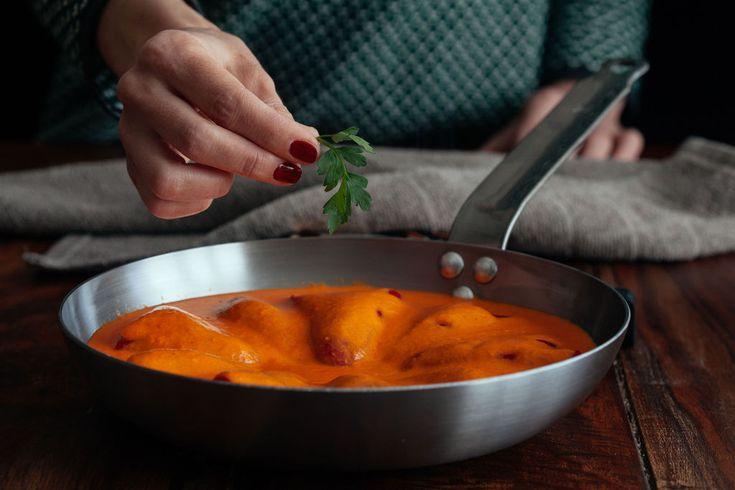 Mejores 966 im genes de esp a en la cocina en pinterest - Pimientos rellenos de carne picada y bechamel ...