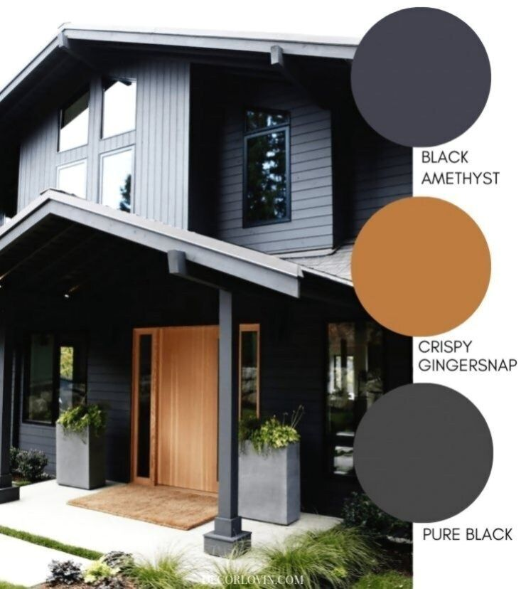 Pin By Stellar Interiors Htx On Modern Victorian Outside House Paint Outside House Paint Colors Modern House Exterior