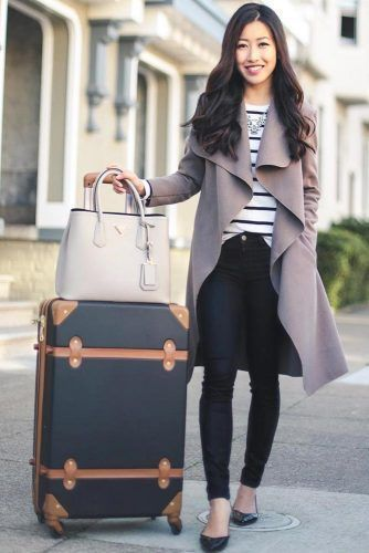 f8bcbb7b9703 Fall Travel Outfit Ideas For You Who Always On The Go 20