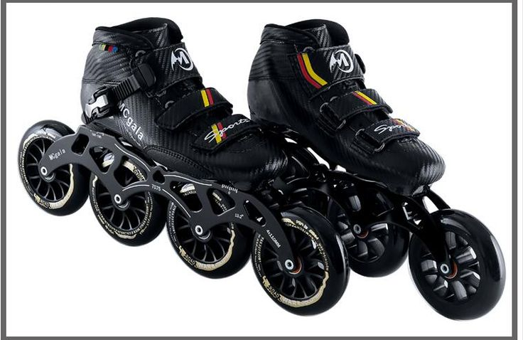 Hot!Speed skating shoes Professional patines en linea High-Strength Glass Fiber Speed Inline Skating Shoes handmade inline