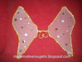 Ali di farfalla/angelo/fatina.....con le grucce!