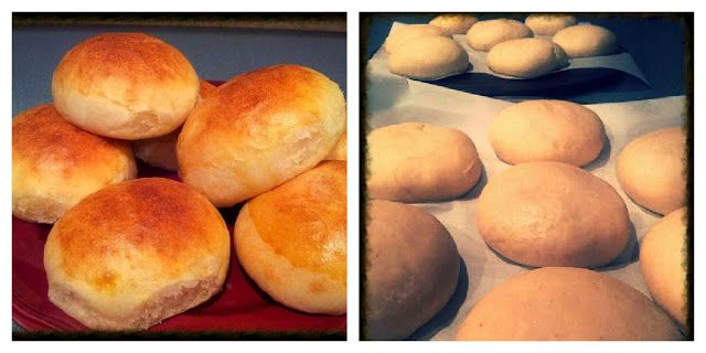 Easy Homemade Hamburger Buns | Food | Pinterest