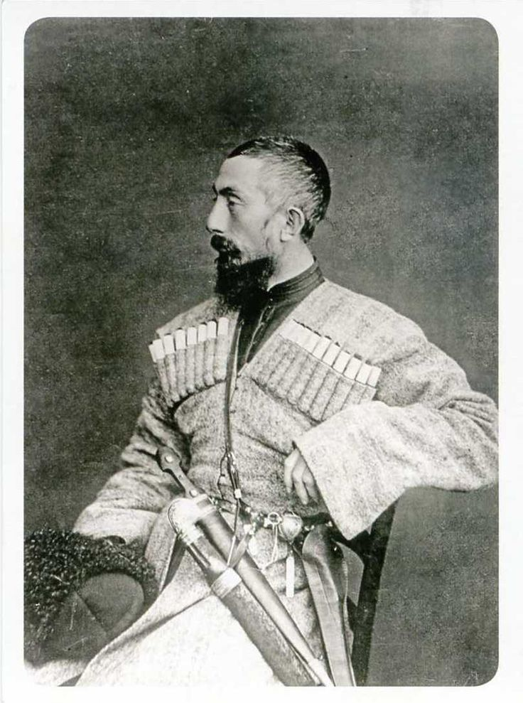 Karbadian prince, North Caucasus mountains, circa 1890's
